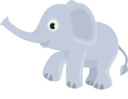 safari elefante剪纸艺术大象画