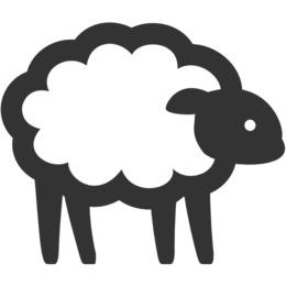 羊图标剪辑剪辑计算机图标剪辑艺术