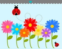 download flowers in the garden clipart flower garden clip art - Garden Clipart