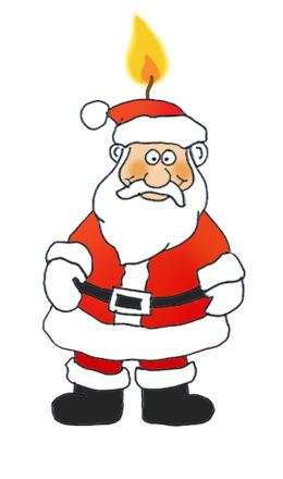 有趣的圣诞老人剪辑圣诞老人圣诞图形剪辑艺术