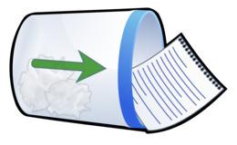 动画垃圾箱剪纸艺术垃圾箱和废纸筐垃圾桶