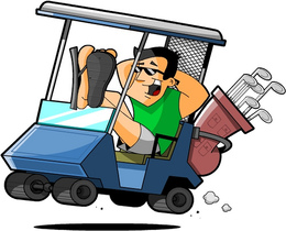 Funny Golf Cart clipart - About 33 free commercial & noncommercial on crane crashes, heavy equipment crashes, utv crashes, bus crashes, 4 wheeler crashes, golf buggy crashes, quad crashes, toy train crashes,