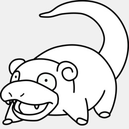 Slowpoke Clipart Clipart About 31 Free Commercial Noncommercial - Slowpoke-coloring-pages