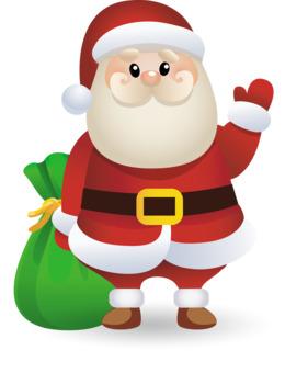 圣诞老人剪辑圣诞老人圣诞图形剪辑艺术
