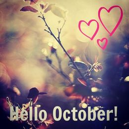 Download Goodbye September Hello October Quotes Clipart 0