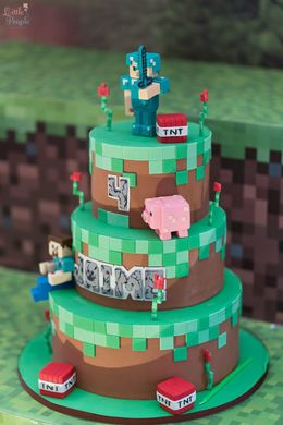Download Bolo Minecraft Clipart Birthday Cake Decorating