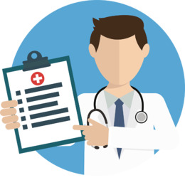 Image result for physical check up illustration