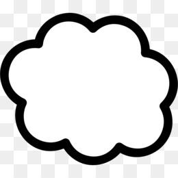 Bubble cloud. Clipart clip art