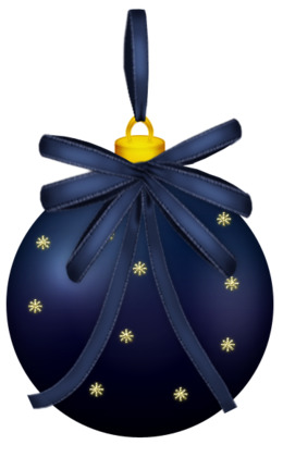 download dark blue christmas png clipart christmas ornament christmas day clip art - Navy Blue Christmas Ornaments