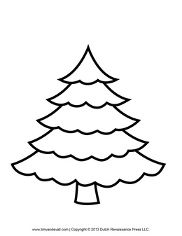 download easy to draw christmas trees clipart how to draw christmas tree drawing