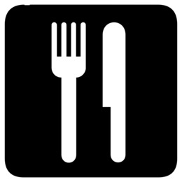 餐厅符号剪贴画