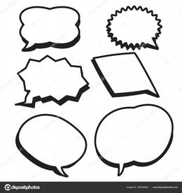 Download comic chat box clipart Text Comics