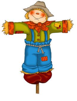 gifs de espantalho animado clipart Scarecrow Garden