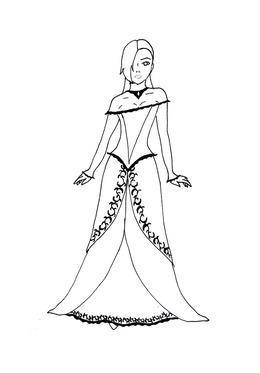 Christian Fancy Dress Clipart