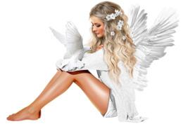 angel clipart Woman Angel