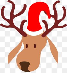 rena do papai noel png clipart Santa Claus Rudolph Reindeer