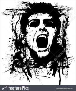 Download Overstock Zombie Face Superheroes Decal Stickers Vinyl Sticker Size 48x48 Color Black 48 Inches X