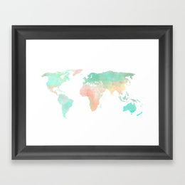 Download society6 watercolor world map iphone ipod skin iphone 6 download society6 watercolor world map iphone ipod skin iphone 6 by sunkissed laughter clipart world map watercolor painting gumiabroncs Images