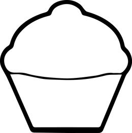 Cupcake Coloring Book clipart - About 127 free commercial ...