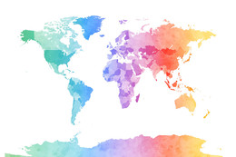 Download watercolour world map clipart world map watercolor painting share kissclipart gumiabroncs Images