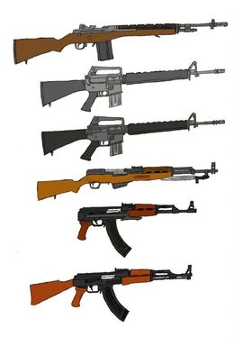 Download ak 74 sling clipart AK-47 AK-74 Firearm