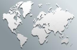 Download bora bora on world map clipart Bora Bora World Globe