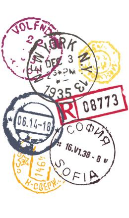 Passport Stamp Clipart Travel