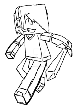Download Minecraft Youtuber Coloring Pages Clipart Book YouTuber