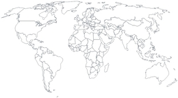 Download world map black and white clipart world political map world map share kissclipart remember us millions of clipart gumiabroncs Gallery