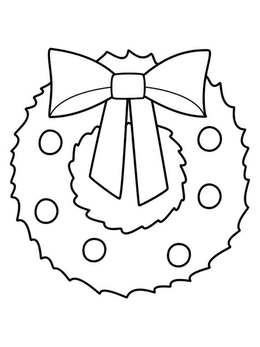 download christmas wreath coloring pages preschool clipart christmas wreaths christmas coloring pages coloring book
