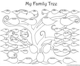 Download Gods Family Tree Colouring Page Clipart History Book Pages Coloring