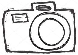 Camera hand drawn. Download clipart drawing clip