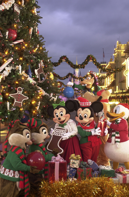 download walt disney world christmas clipart magic kingdom epcot christmas day