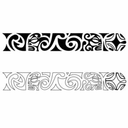 Download Brazalete Maori Clipart Maori People Bracelet Tattoo - Maori-tattoo-brazalete