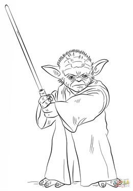 download yoda coloring pages clipart yoda stormtrooper qui gon jinn
