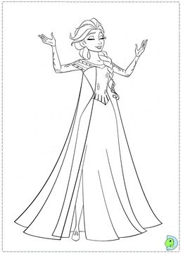 Download Coloriage Reine Des Neiges Clipart Elsa Olaf Anna