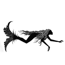 download mermaid clipart mermaid stencil designs clip art