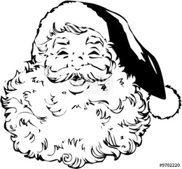 North Pole Postage Stamp Clipart