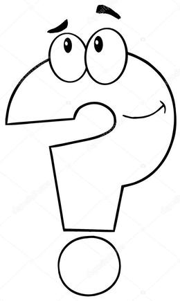 Download Question Mark To Color Clipart Coloring Book Colouring Pages