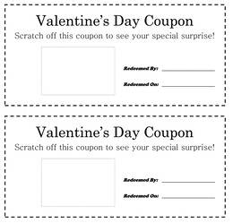 Download valentine coupon template clipart Document Coupon Template ...