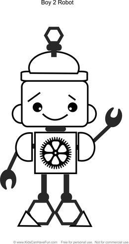 Download Robot Espacial Para Colorear Clipart Robotics Coloring Book