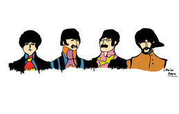 beatles silhouette clipart about 24 free commercial