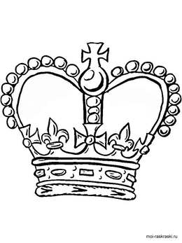 Download King Crown Coloring Page Clipart Book Colouring Pages
