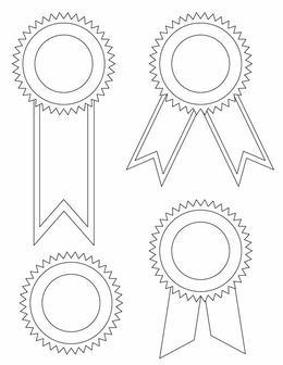 download printable award ribbon template clipart ribbon paper clip art