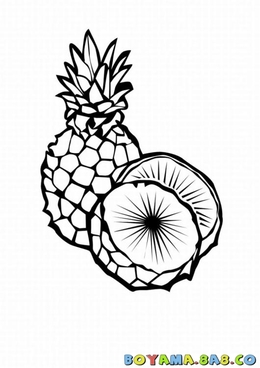 Download Pineapple Fruit Clipart Pineapple Tropical Fruit