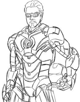 Download iron man coloring pages clipart Iron Man Colouring Pages ...