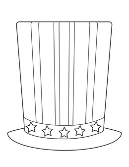 download uncle sam hat template clipart uncle sam hat united states