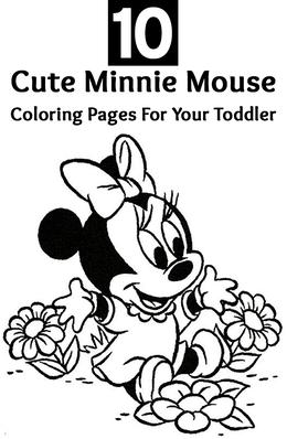 download desenho para colorir e imprimir minie clipart minnie mouse