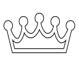 Download Coloring Page Crown Clipart Book Colouring Pages