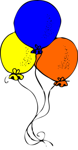 birthday illustration balloon graphics png clipart free download